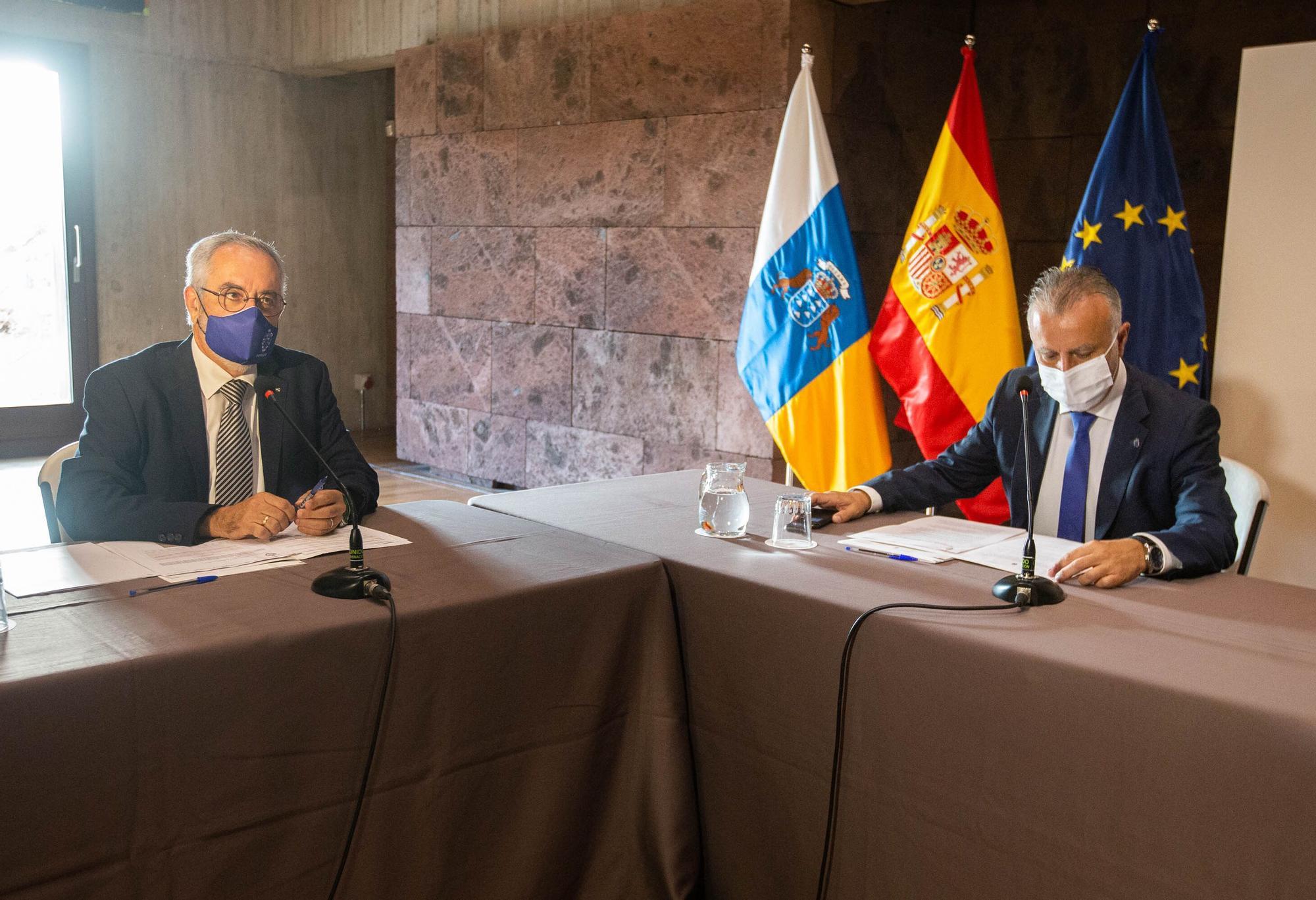 Torres y Franquis se reúnen con la patronal Fepeco
