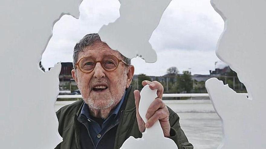 Dos de las obras de arte del Niemeyer entran en el inventario cultural asturiano