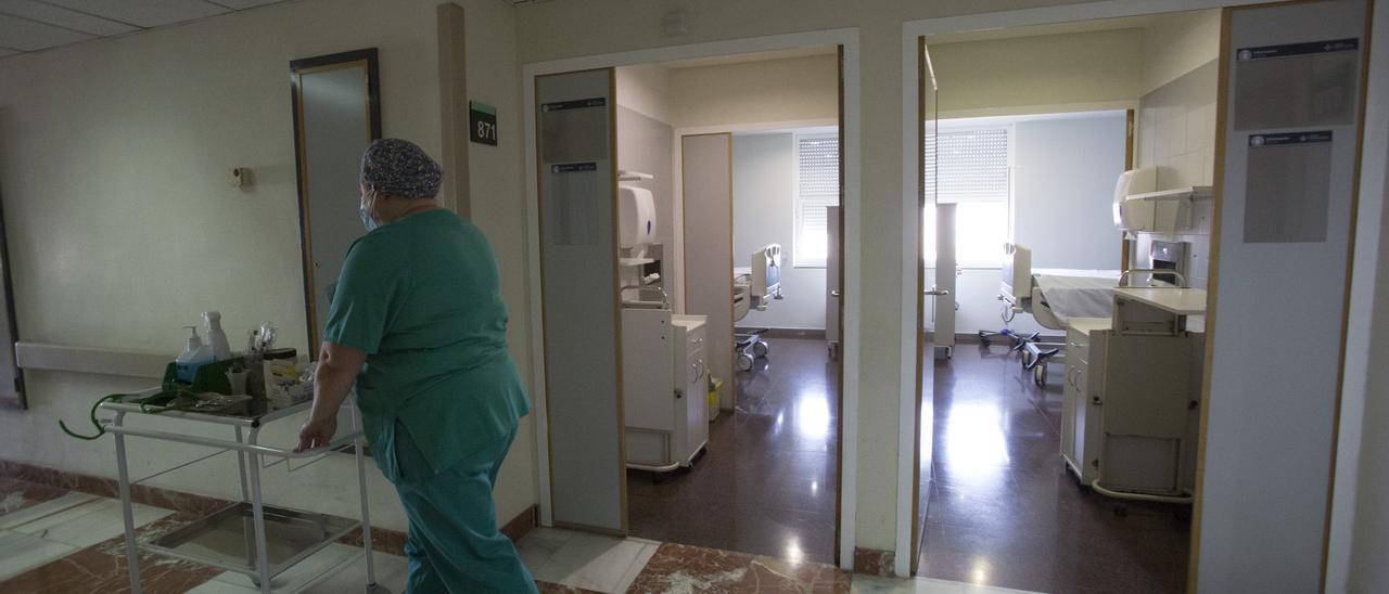 Continúa el descenso de pacientes ingresados en los hospitales de la provincia