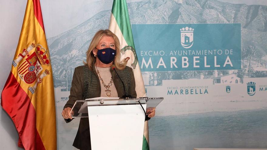 """La alcaldesa de Marbella exige al Gobierno """"un auténtico plan de vacunación"""" y ayudas al turismo"""