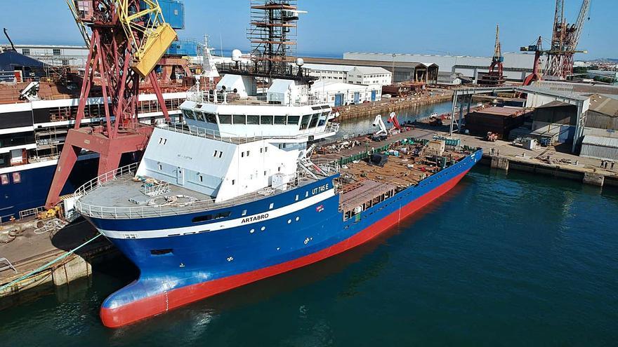 La viguesa ACSM invierte casi 8 millones en su segundo buque multipropósito