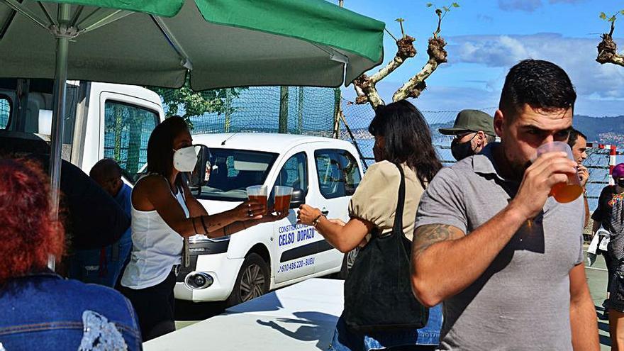 Fin de fiesta en Banda do Río con sidra natural y verbena por Santa Ifigenia