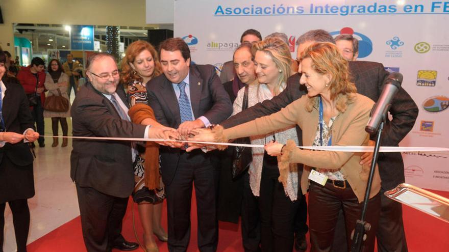 El alcalde inaugura la Feria de Muestras de A Coruña