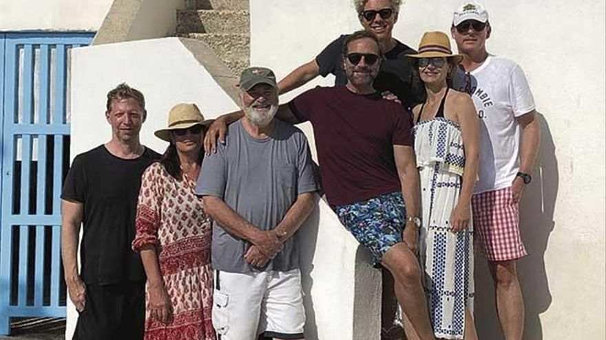 Rob Reiner, director de 'Cuando Harry encontró a Sally', de visita en Mallorca
