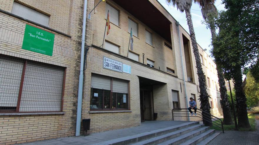 La obra de ampliación del instituto San Fernando se retrasa a octubre