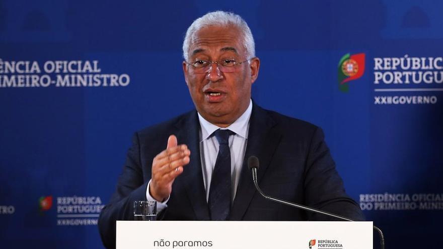 """António Costa: """"No habrá restablecimiento del mercado interior si no hay inmunización a escala global de la UE"""""""