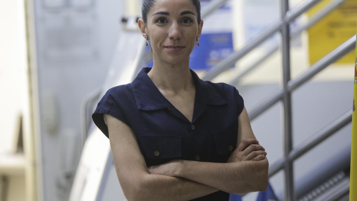Laura Almudéver, nueva presidenta del Colegio de Enfermería de Valencia.