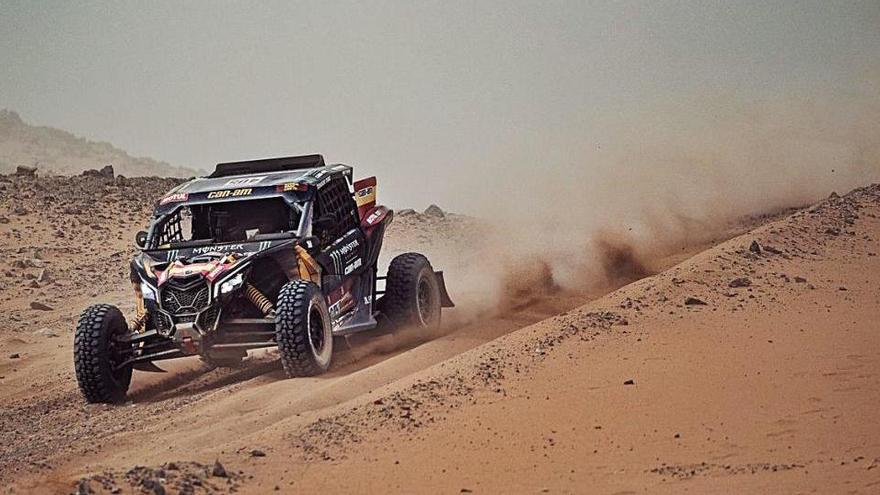 Farrés encara té a tir el top 10 del Dakar