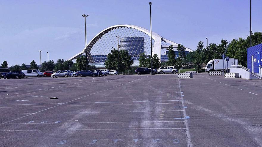 El párking del rastro de Zaragoza se convertirá en un aparcamiento de larga estancia