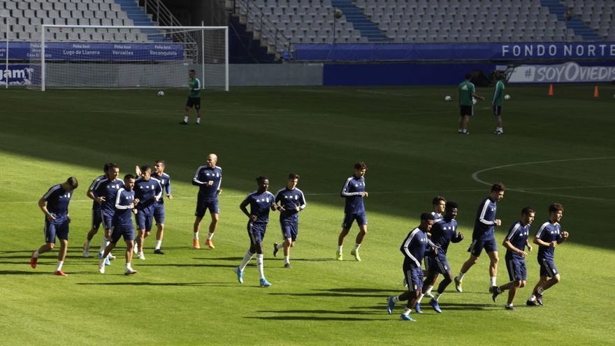 Dos jugadores del Oviedo, positivos en covid-19