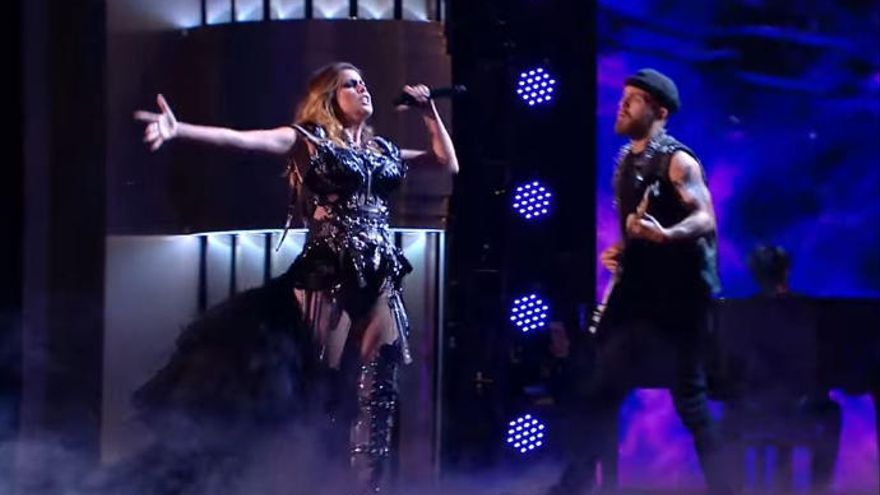 "La ""actuación indescriptible"" de Cristina Ramos en Britain's Got Talent The Champions"