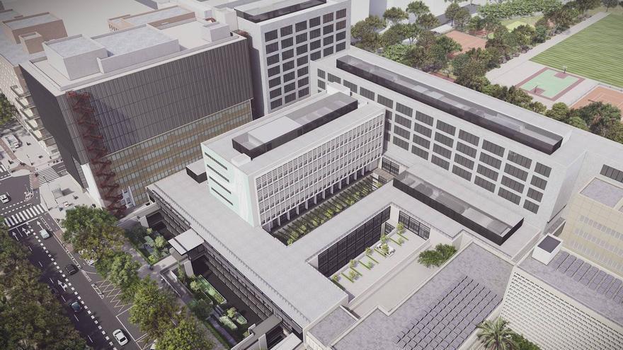Así será la ampliación del Hospital Clínico de València