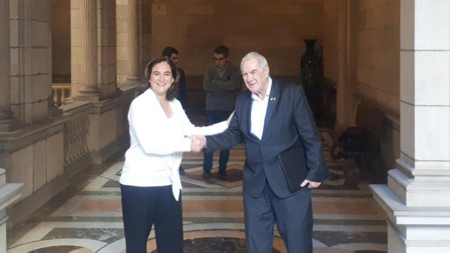 Colau y Maragall logran un principio de acuerdo sobre los presupuestos de Barcelona