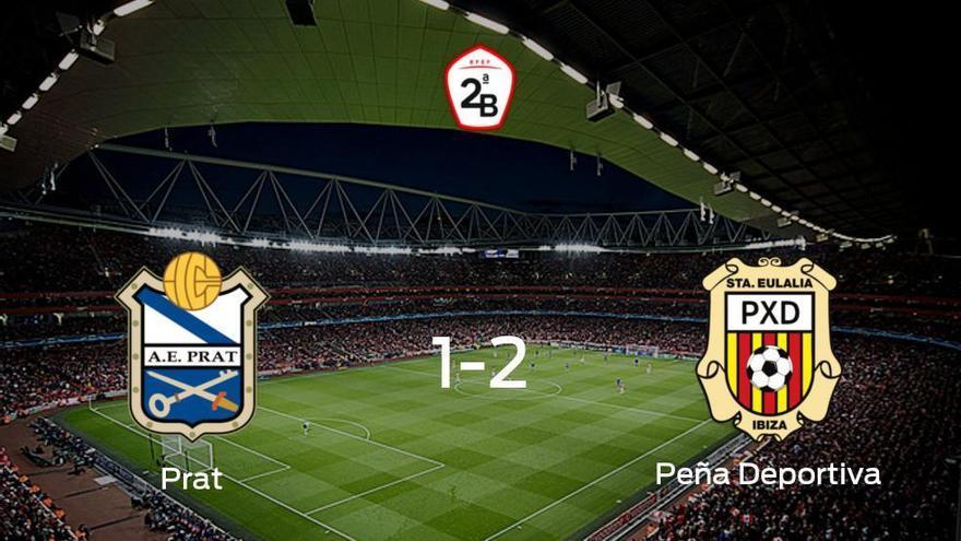 La Peña Deportiva gana 1-2 en casa del Prat