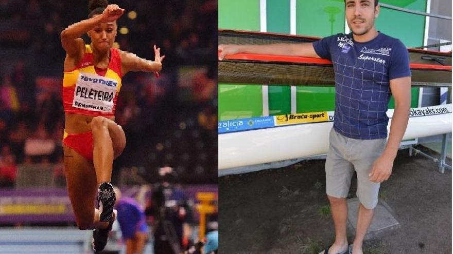 Ana Peleteiro y Tono Campos, mejores deportistas gallegos de 2018
