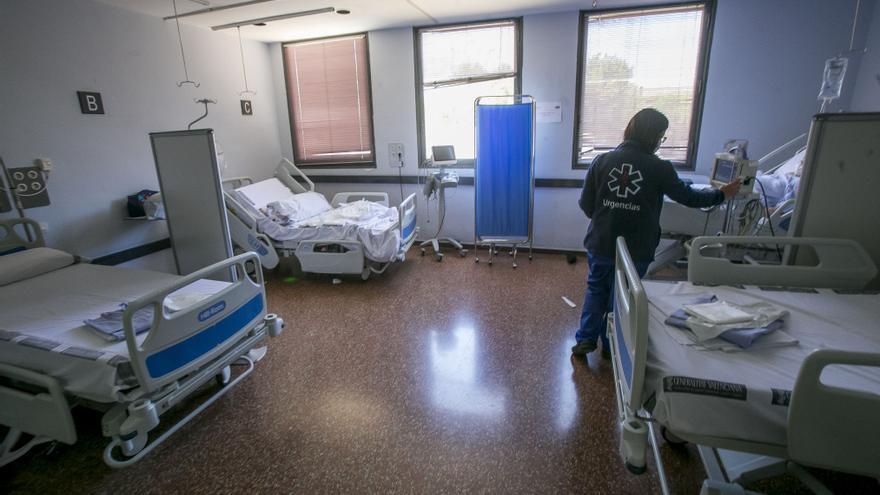 Un incendio en una habitación del Hospital de Sant Joan provoca graves quemaduras a un paciente ingresado