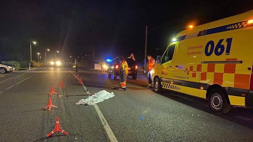Muere un vecino portugués tras ser atropellado en Ourense