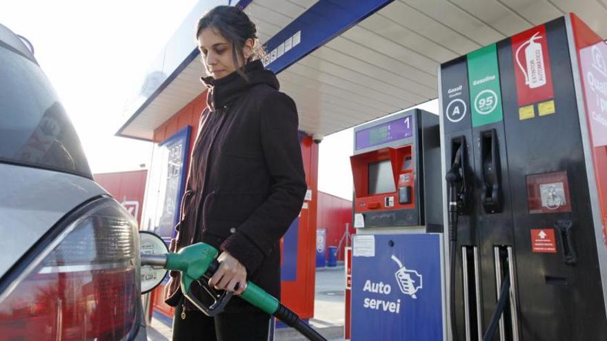 La Setmana Santa començarà amb la gasolina més cara