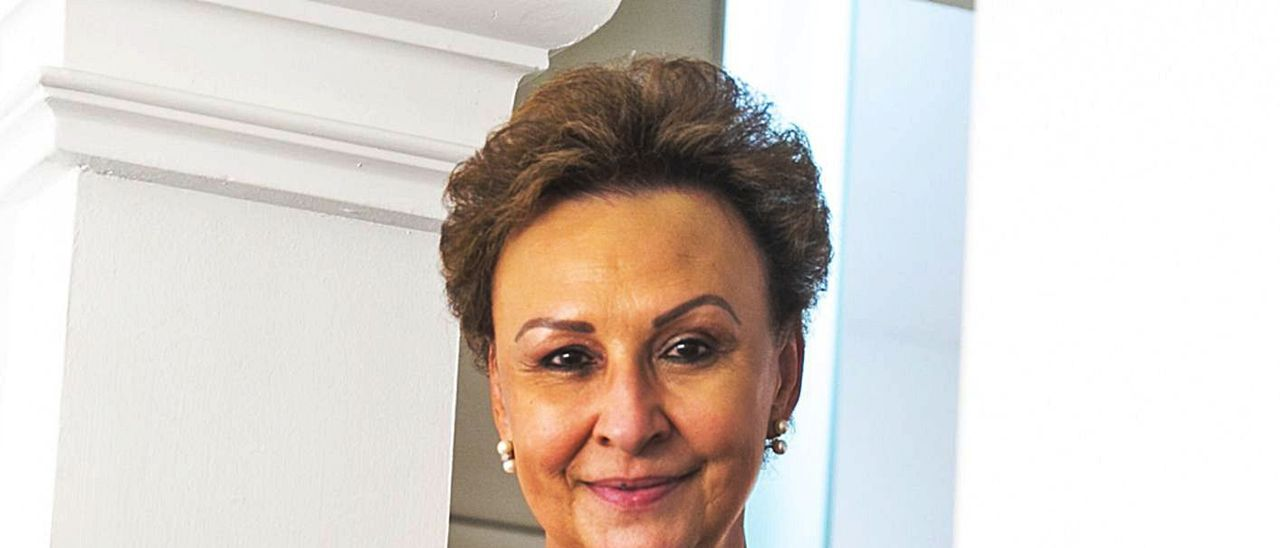 María Teresa Pérez Vázquez, en una imagen de archivo de antes de la pandemia.