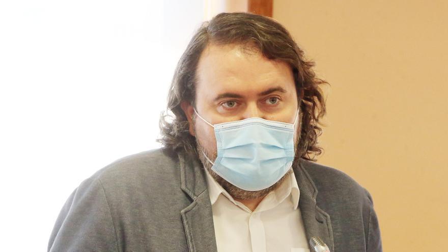El concejal vigués Rubén Pérez, nombrado responsable de Política Municipal en la nueva dirección federal de IU