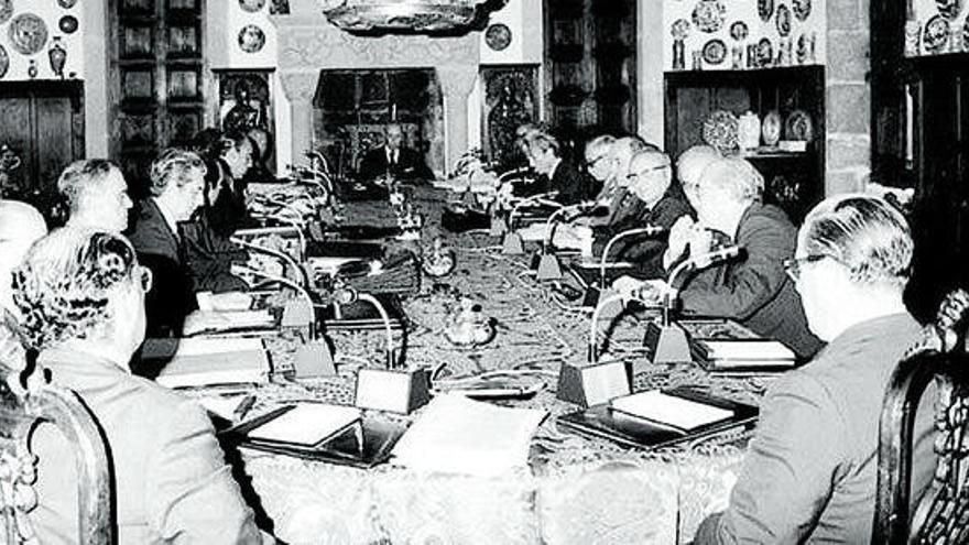 El último 20-N de los Franco en el Pazo de Meirás