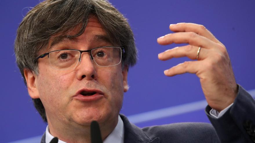 Puigdemont demana a l'Eurocambra que no presenti al·legacions a la seva immunitat