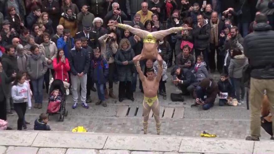 El Duo Vitalys bat un nou rècord Guinness a les escales de la Catedral de Girona