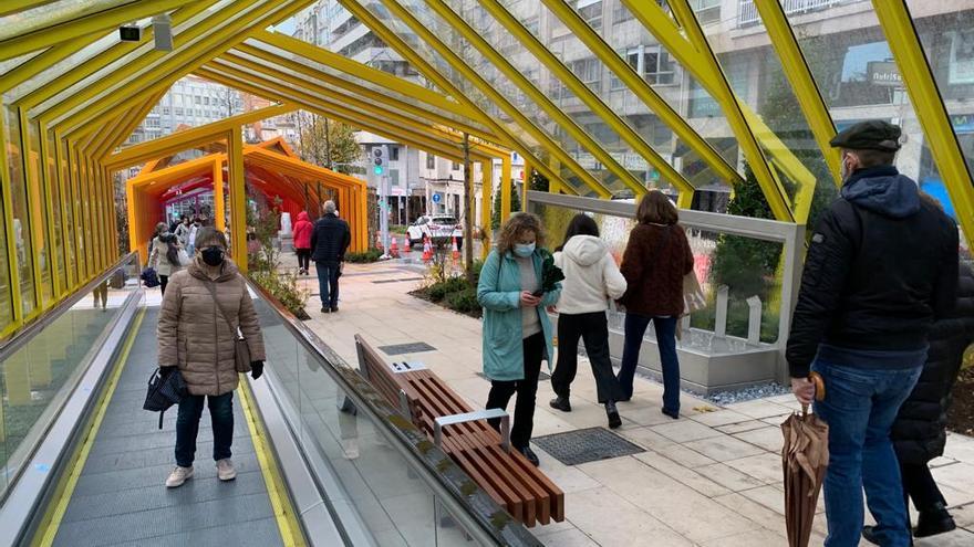 Las rampas de Gran Vía, un nuevo atractivo turístico de la ciudad
