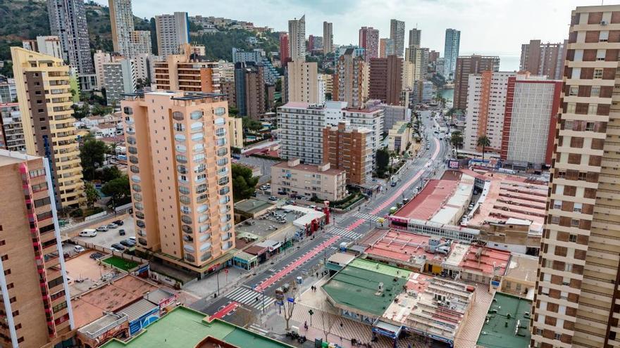 Benidorm invertirá 700.000 euros en renovar la avenida Roma