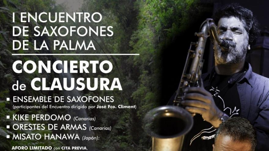 I Encuentro de Saxofones de La Palma