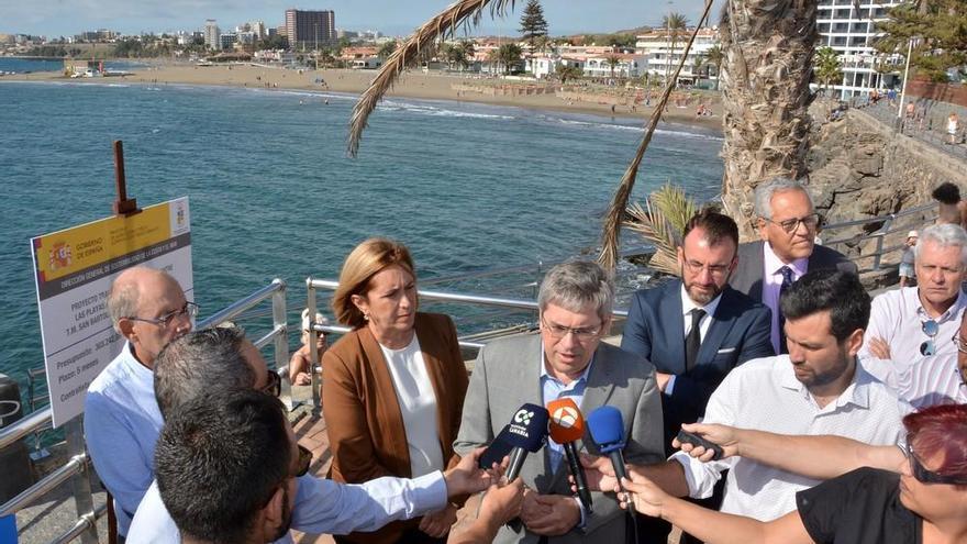 Arrancan las obras del paseo marítimo de Las Burras a San Agustín