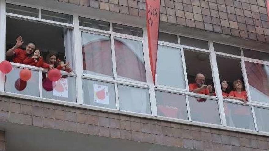 La Pontevedrada, este año una emotiva salida de balcón