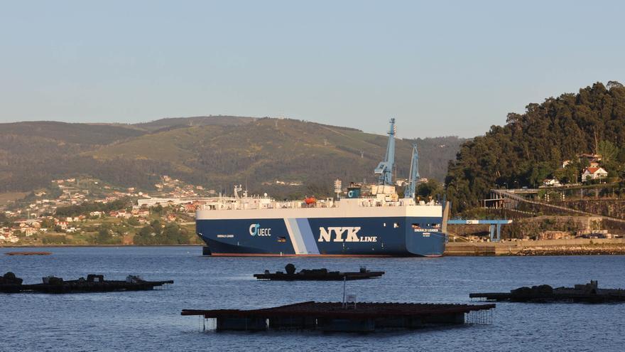 Confinado un segundo buque en Vigo con 8 casos de COVID