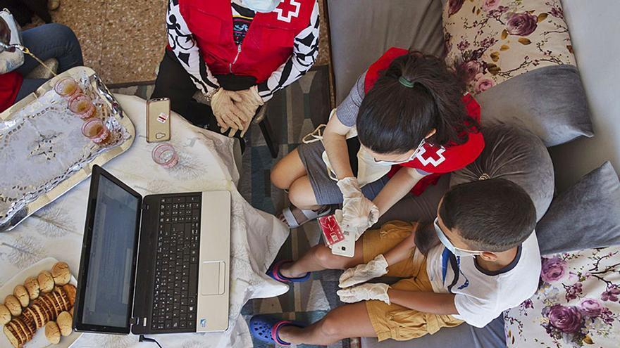 Las ONG alertan de  que la brecha digital se agrava con la pandemia