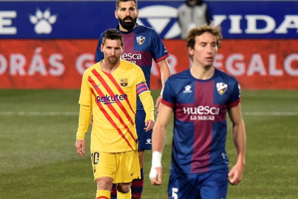 LaLiga Santander: Huesca - Barcelona.