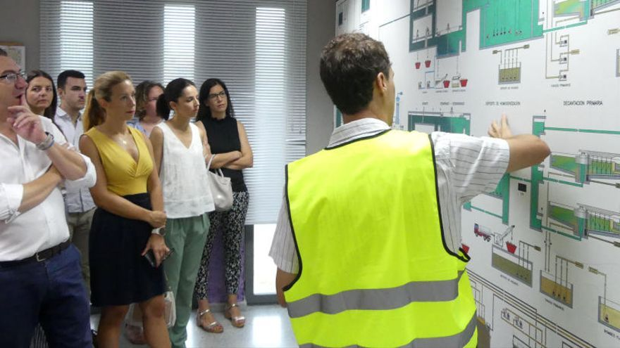 Benidorm invertirá 6 millones de euros en la depuradora para mejorar el servicio