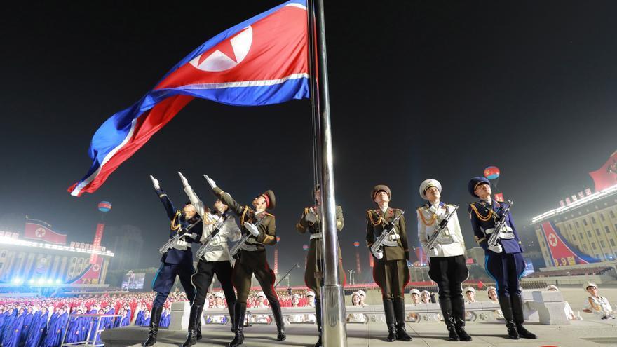 Perfil bajo en el último desfile militar en Corea del Norte