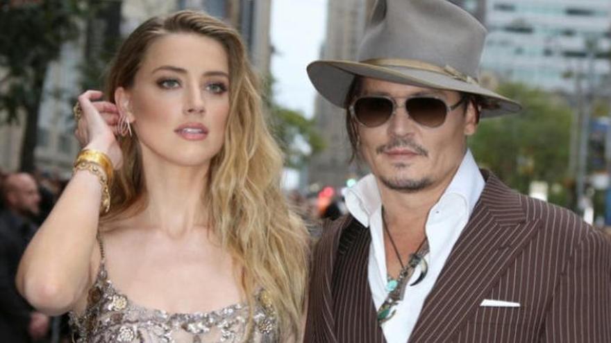 Revelado un audio en el que Amber Heard admite haber pegado a Johnny Depp