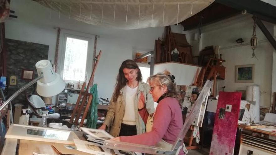 «Natura i tinta» s'instal·la a l'Espai Aljub de Figueres