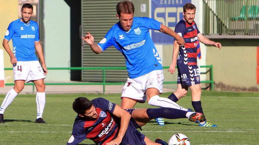 El Pontevedra se impone 0-2 ante la Gimnástica Segoviana