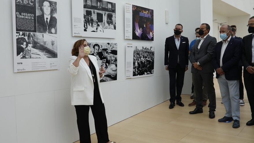 El Teatro Ramos Carrión presenta una nueva exposición sobre terrorismo