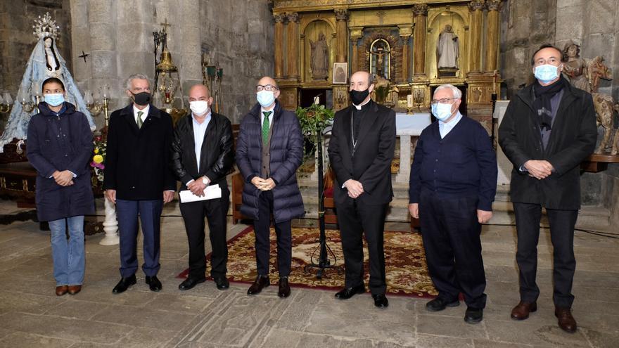 Visita institucional al Monasterio de San Martín de Castañeda