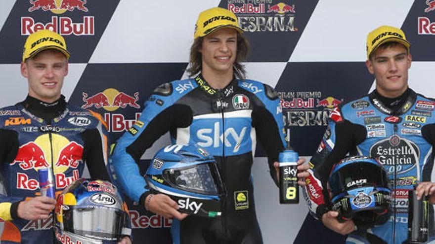Moto3: Bulega logra su primera pole - Navarro, tercero