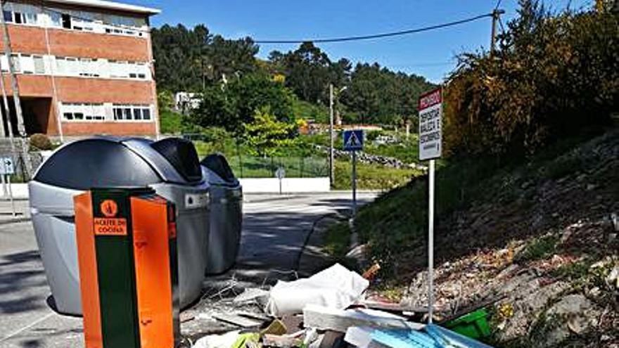 Baiona avanza na reciclaxe de residuos domésticos
