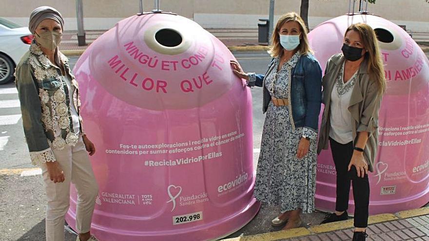 Benicàssim apoya la investigación del cáncer a través del reciclaje