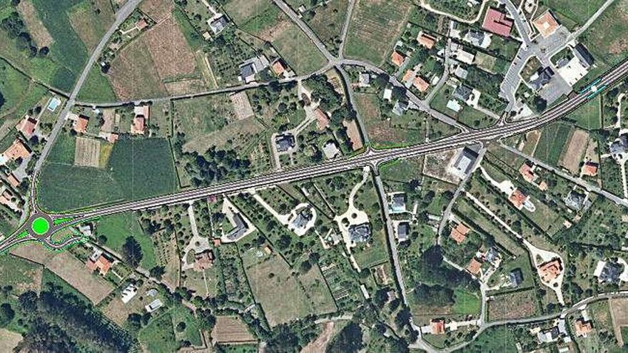 La Xunta contrata la nueva rotonda de San Isidro por 280.000 euros