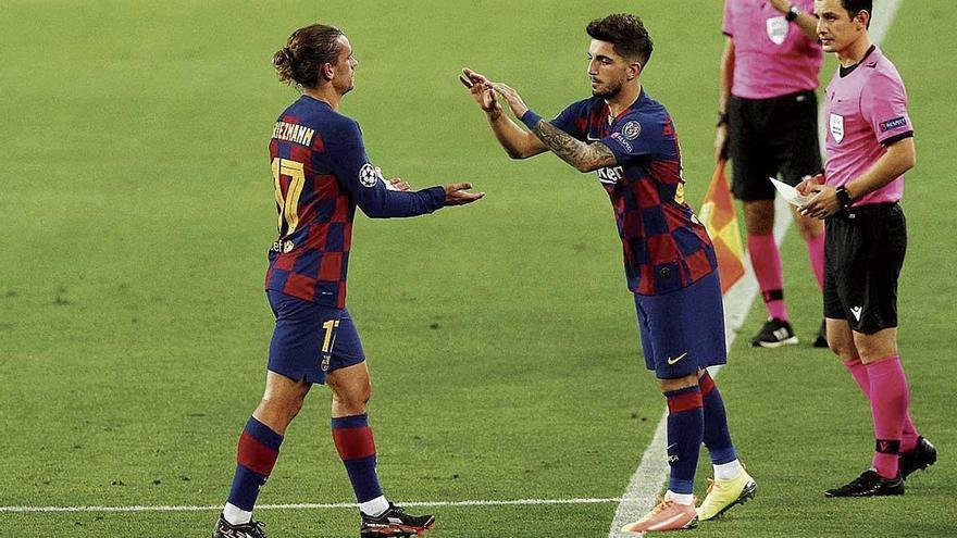 El mallorquín Monchu debuta con el Barcelona