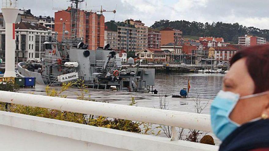 "Visita del buque ""Mahón"" de la Armada en Avilés"