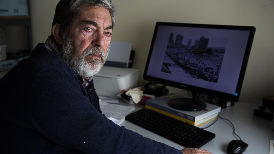Fallece a los 78 años Perfecto Arjones, fotógrafo de INFORMACIÓN entre 1964 y 1986