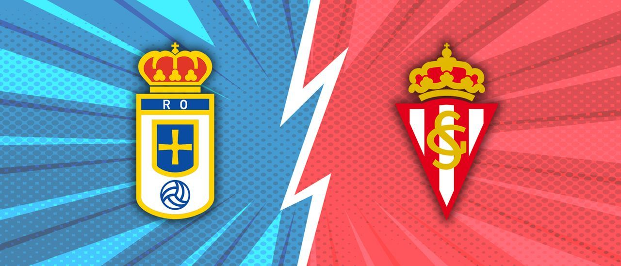 Escudo del Real Oviedo y del Sporting